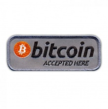Bitcoin, accepted here