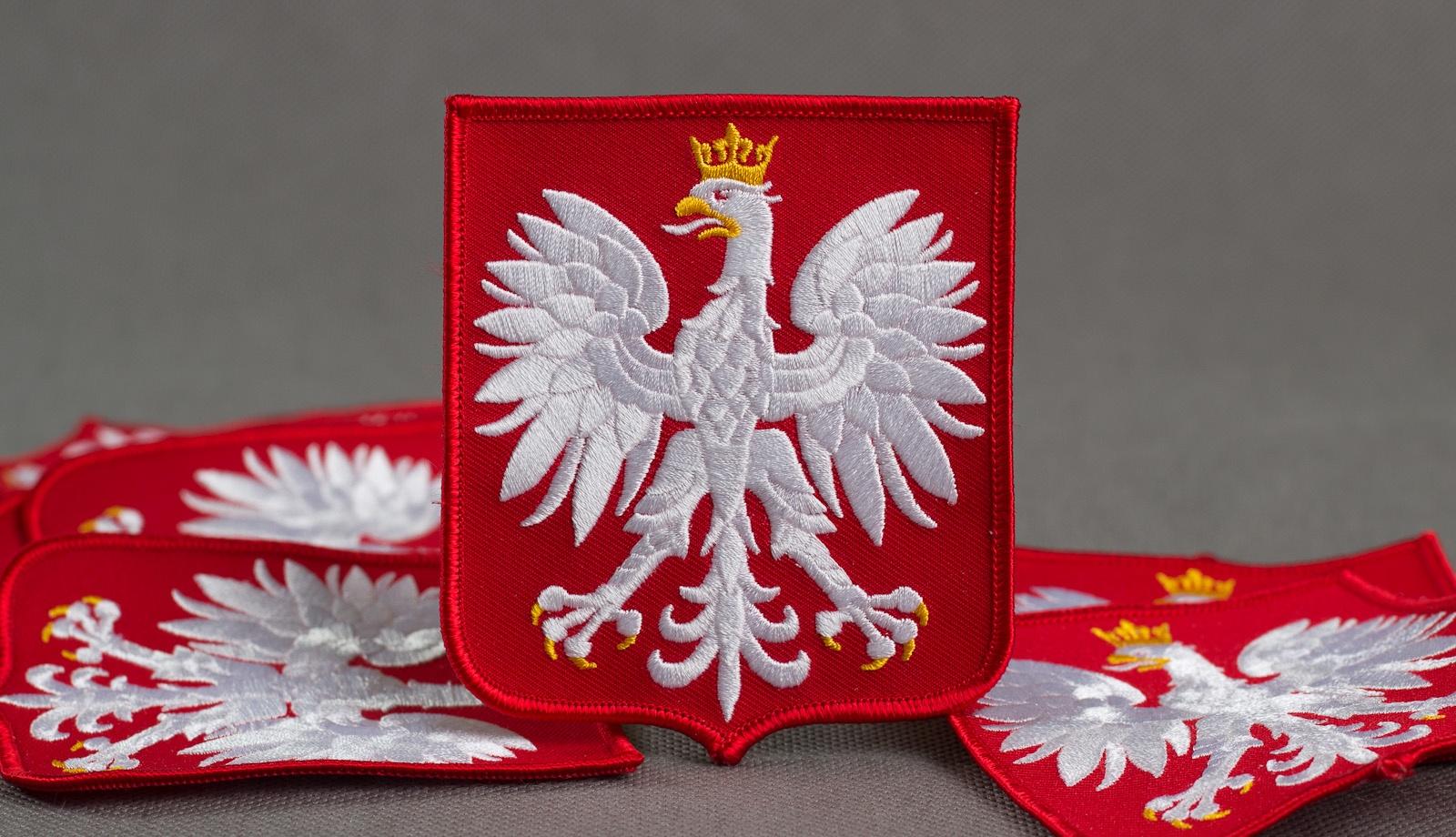 634d83796 Godło Polski - Herb RP duża :: Naszywki24.pl - sklep internetowy