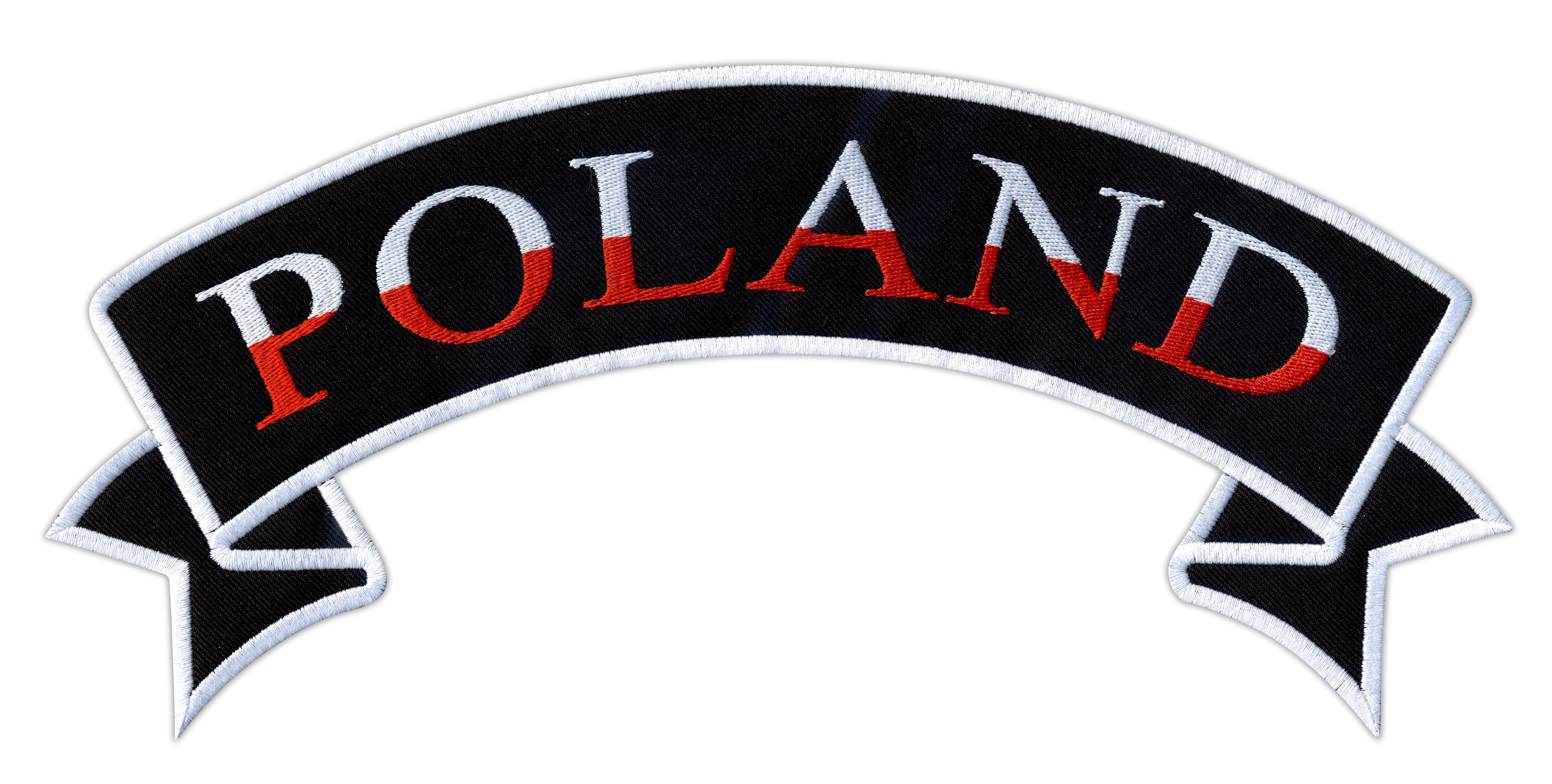Dodatkowe Poland biało-czerwona - szarfa :: Naszywki24.pl - sklep internetowy CF84